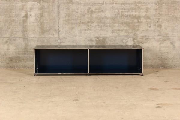 USM Haller Lowboard mit 2x1 Fächern, Nr.180023