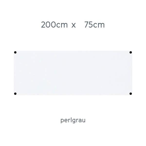 USM Haller Tisch 200x75cm Kunstharz perlgrau