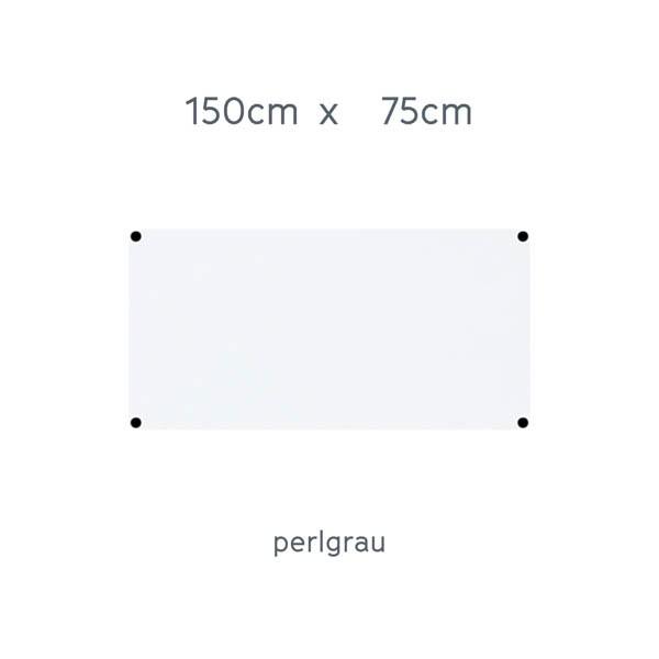 USM Haller Tisch 150x75cm Kunstharz perlgrau