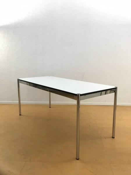 USM Haller Tisch 175x75cm Kunstharz Perlgrau, Nr.170877