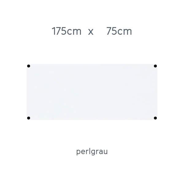 USM Haller Tisch 175x75cm Kunstharz perlgrau