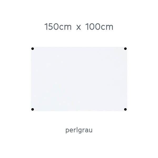 USM Haller Tisch 150x100cm Kunstharz perlgrau