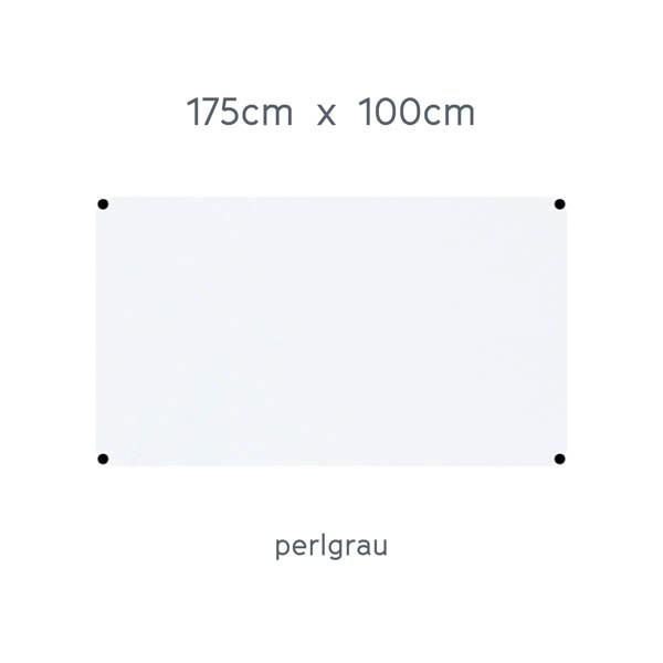 USM Haller Tisch 175x100cm Kunstharz perlgrau