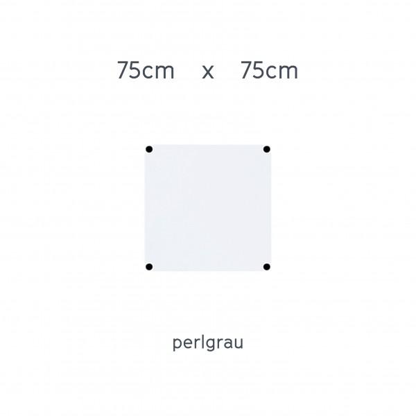 USM Haller Tisch 75x75cm Kunstharz perlgrau