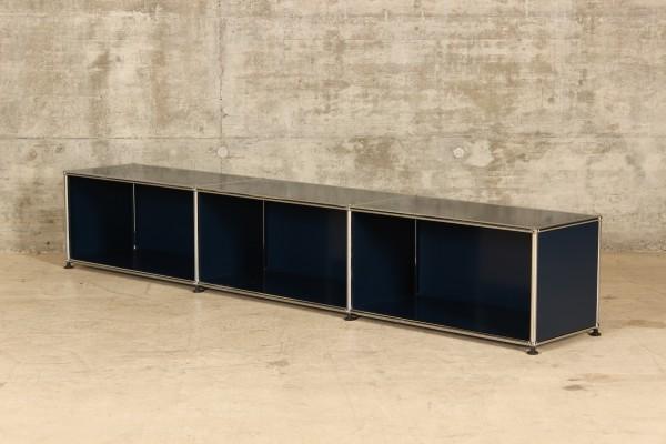 USM Haller Lowboard mit 3x1 Fächern, Nr.180041