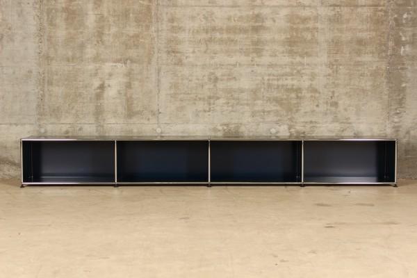 USM Haller Lowboard mit 4x1 Fächern, Nr.180051